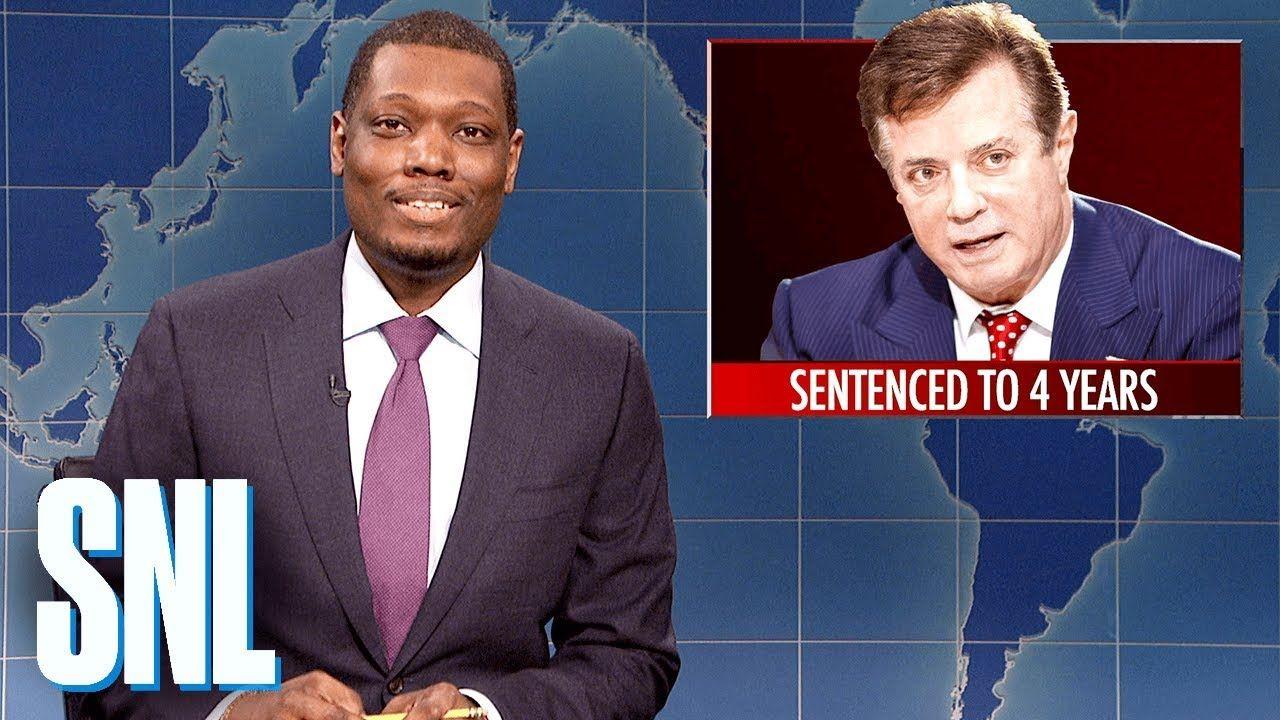 Weekend Update Paul Manafort Sentenced To Prison Snl Weekend Update Snl Snl Weekend Update