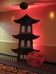 Yokohama Japan Decorations Like China Fans And Lanterns