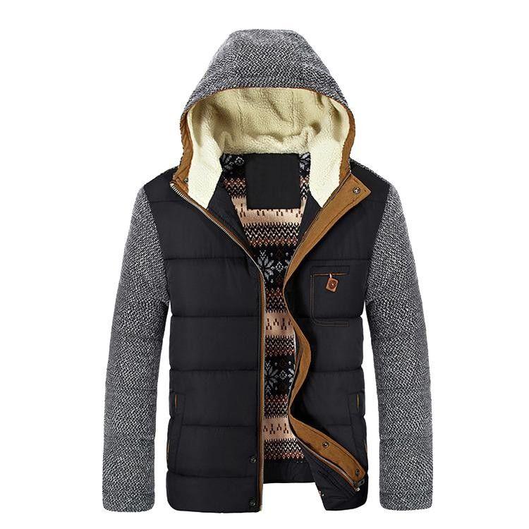 High Quality Winter Jacket Men Brand 2016 Warm Thicken Coat
