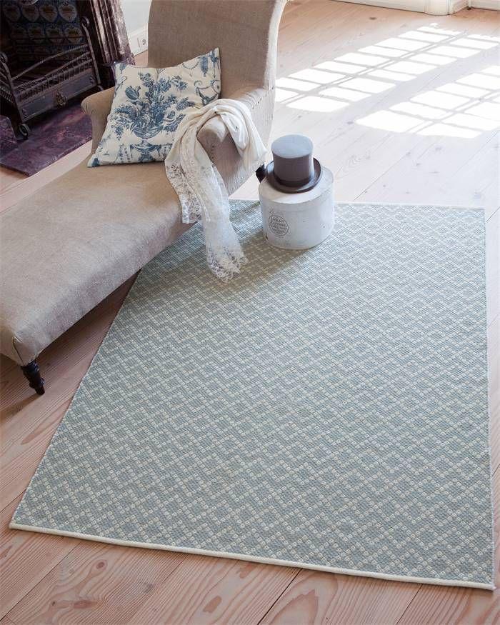 Wollteppich grafisches Muster, blau wohnen Pinterest - blauer teppich wohnzimmer