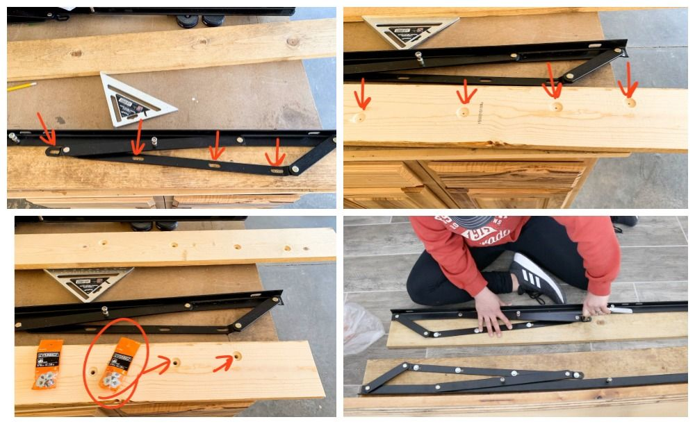 How To Build A Queen Size Storage Bed in 2020 Queen size
