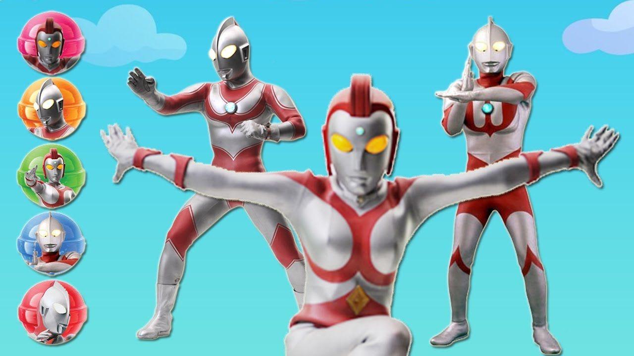 Ultraman Ribut Lollipop Finger Family Ultraman Finger Family Songs
