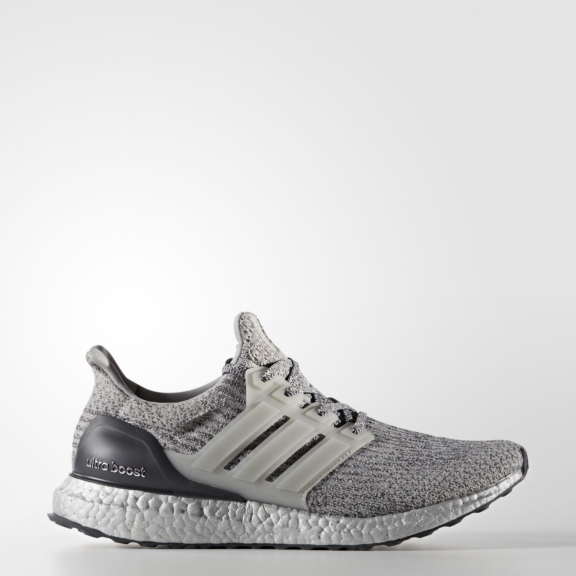 official photos 5e676 c4146 Adidas Ultraboost 3.0 - Grey with Silver Boost midsole