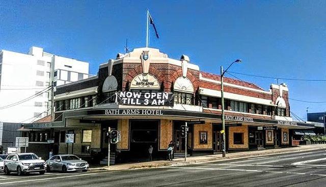Bath Arms Hotel, Parramatta Road, Burwood, Sydney NSW ...
