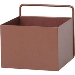 Photo of Plant Box square Blumenkasten rotbraun Ferm LivingFerm Livin…