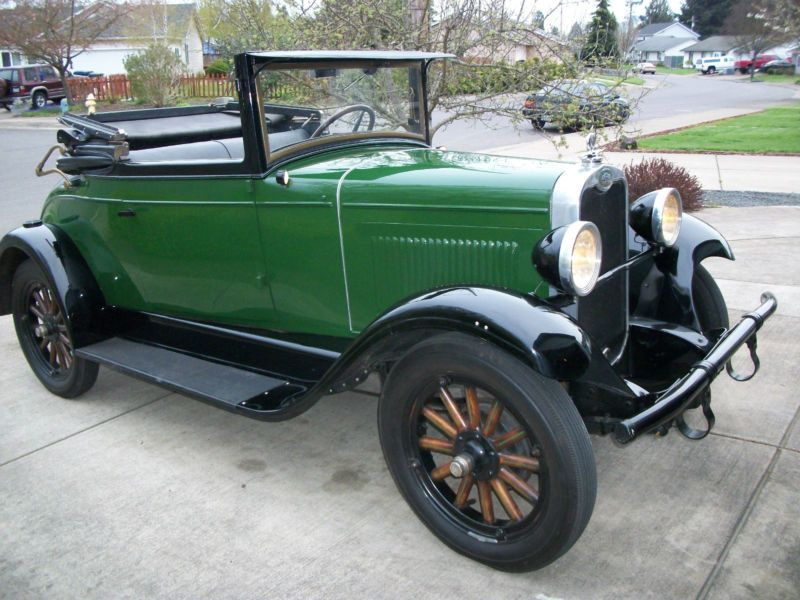 1928 Chevrolet National AB Convertible Sport Cabriolet | cars ...