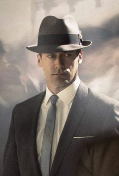 2b7fe3ec 25 Style Questions Answered in Seconds   hats off   Mad men fashion ...
