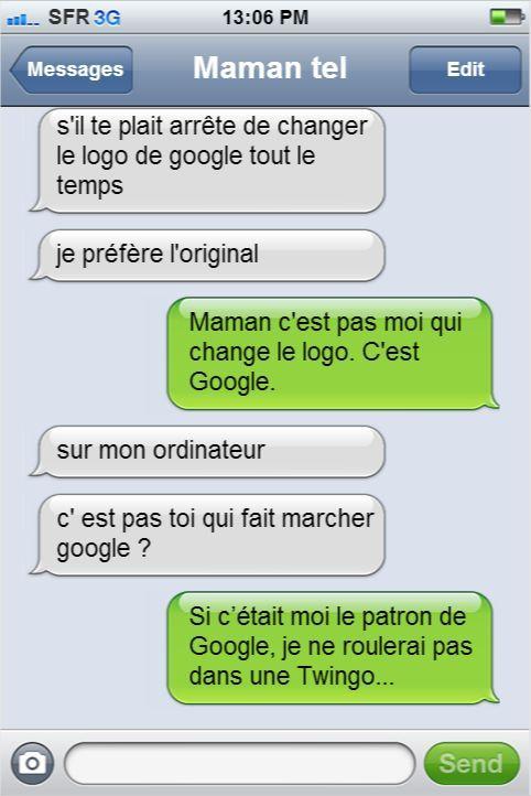 best Funny Quotes : Les textos entre les parents et leurs enfants les plus drôles qui aient jamais été envoyés. Du génie !
