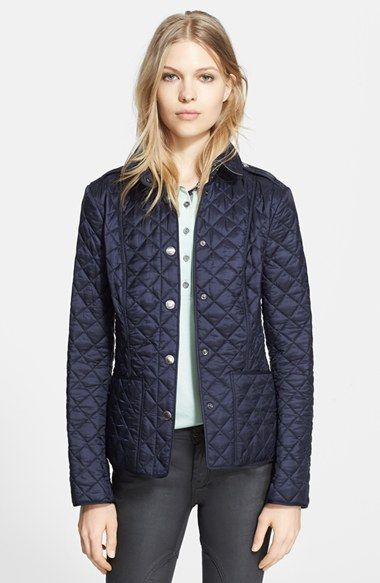 Burberry Brit Copford Quilted Jacket Nordstrom Quilted Coat Burberry Brit Quilted Jacket