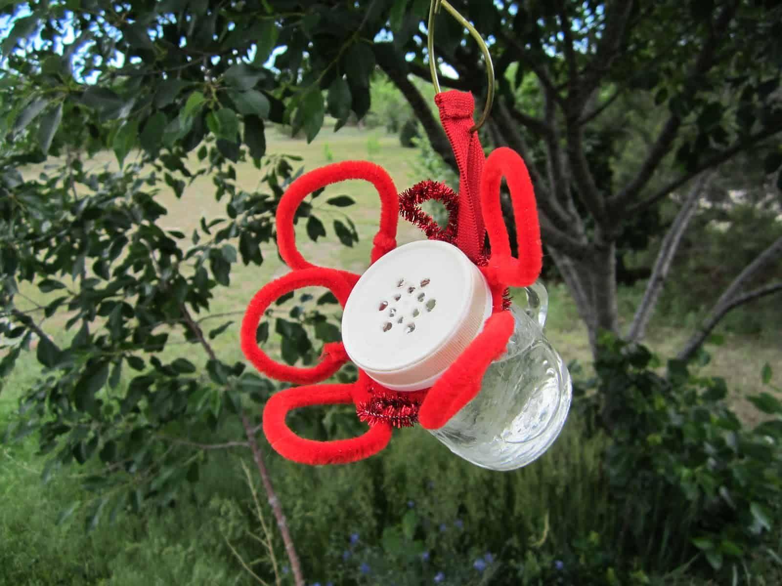 20 DIY Hummingbird Feeder Ideas Homemade hummingbird