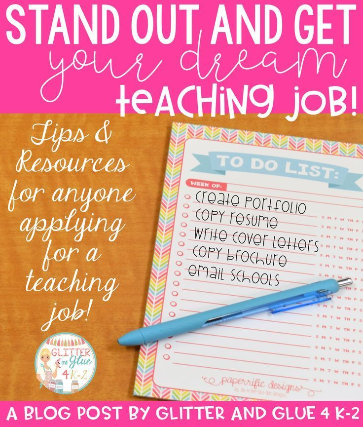 5 Tips to Stand out and Get Your Dream Teaching Job
