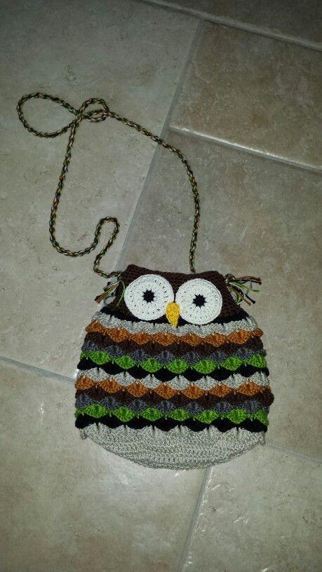Uilen Tasje Zelfgemaakt Monica Pinterest Crochet