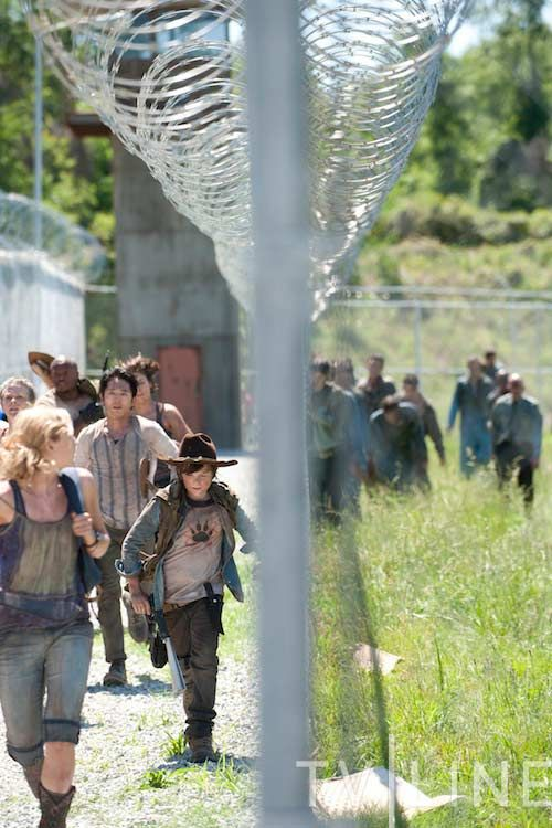 The Walking Dead: Jailbait zombies
