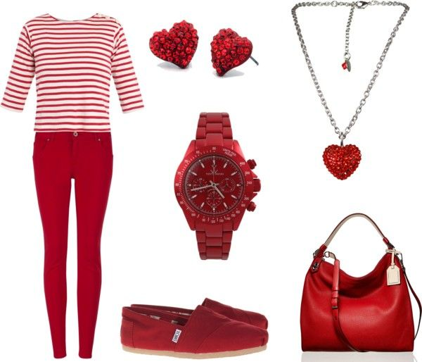 So Much Red, created by holly-christine on Polyvore