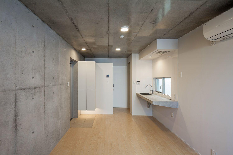 Modelia Days Gokokuji Minimalist Interior Architecture