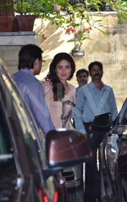 Kareena Kapoor Khan Saif Ali Khan At Shashi Kapoor S Christmas Brunch Kareena Kapoor Khan Shashi Kapoor Saif Ali Khan