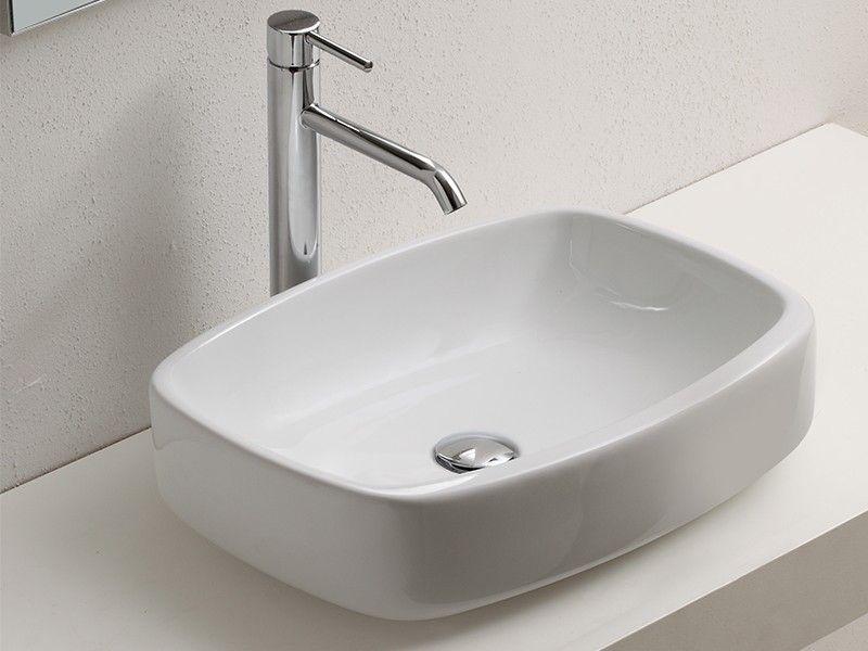 lavabo d'arredo jasmine 50,5x38xh15 s/tp - iperceramica | bath ... - Arredo Bagno Iperceramica