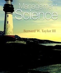 Download solution manual for introduction to management science 11th download solution manual for introduction to management science 11th edition bernard w taylor fandeluxe Gallery