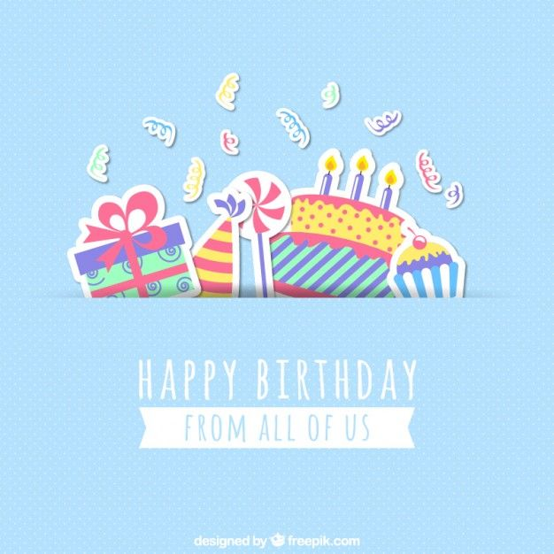 Cartão do feliz aniversario Happy birthday cards and Happy birthday - birthday cards format