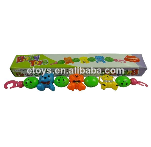 1.plastic baby rattle animals bell for kids  2.Good quality and best price.