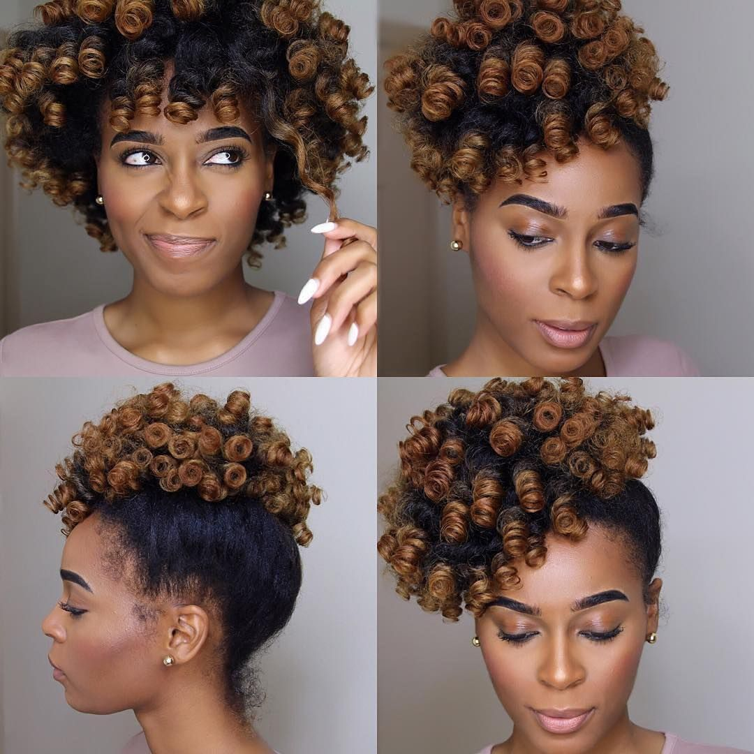 12 Bomb Perm Rod Set Hairstyle Pictorials And Photos Short Natural Hair Styles Natural Hair Styles Hair Styles