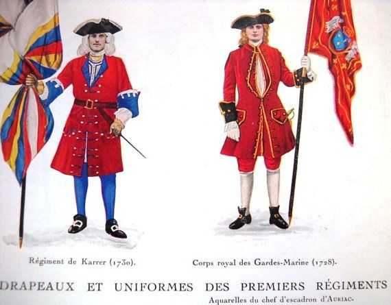 Flags and uniforms of the former colonial regiments of by OldMag, $13.00 #history #poster #collectible