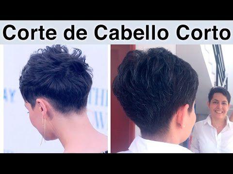 PIxie Haircut   Corte de pelo Pixie   Como hacerlo   paso a paso  Pixie cut  - YouTube fab46c256f23