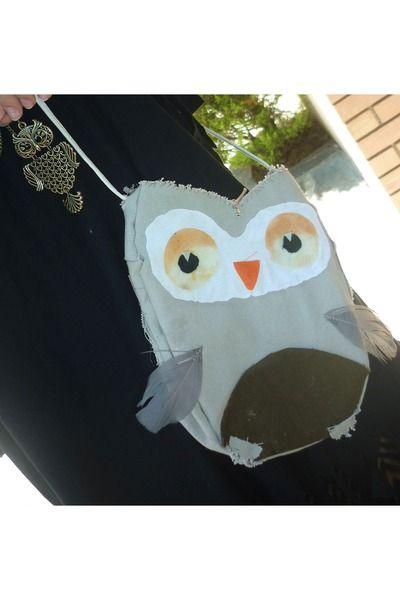 Owl Bag #DIY #owl #bag #purse