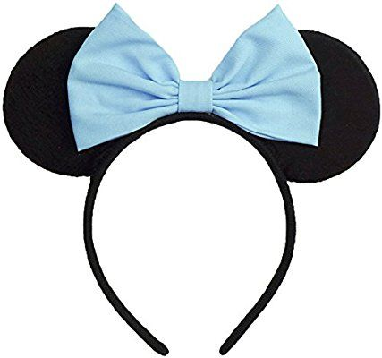 Latest Mickey Mouse Minnie Mouse Hairband Ear Headbands Women Girls Disney Party