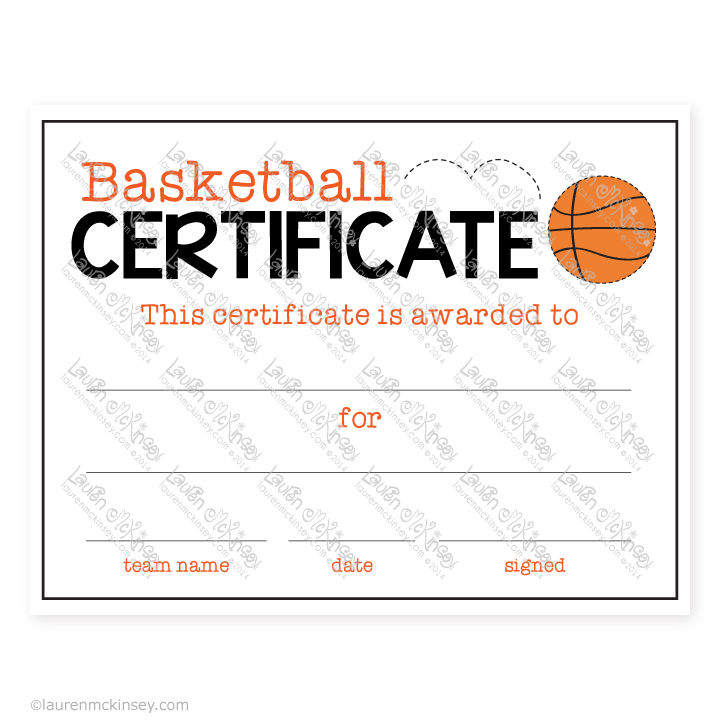 Celebrate basketball sports banquet party printables by lauren printable basketball certificate of participation invitation templates designsearch results for printable basketball certificate of participation yadclub Choice Image