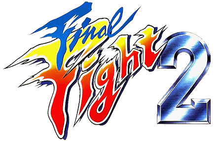 Final Fight 2 Fight Game Logo Cool Typography