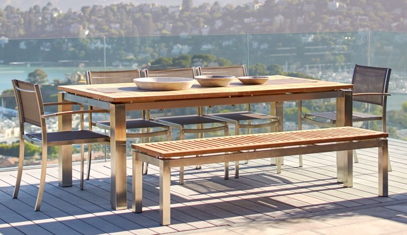 Outdoor Patio Dining Sets Tables Benches Chairs Outdoor In