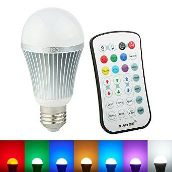 54 Off Coidak Rgb Led Color Changing Light Bulb With Wireless Remote Control Upgrade You Color Changing Light Bulb Globe Light Bulbs Color Changing Lamp