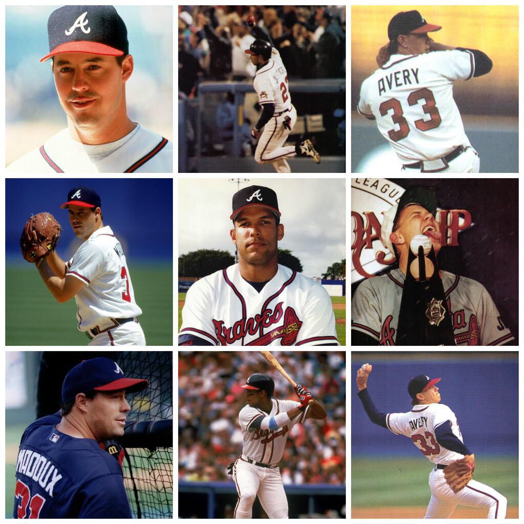 Happy Birthday To Some Braves Legends With Images Atlanta Braves Baseball Braves Baseball