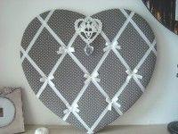 Cadre Pele Mele Porte Photos Coeur Gris Deco Coeur Cadre Coeur Deco