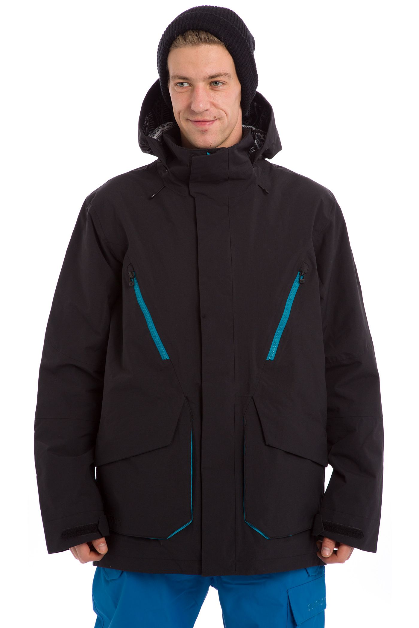 Burton Breach Snowboard Jacket True Black Buy At