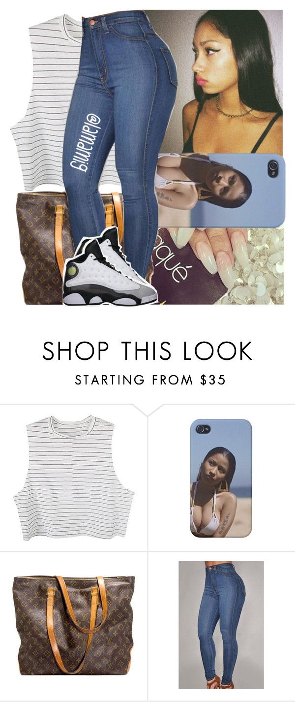 """"" by lamamig ❤ liked on Polyvore featuring Louis Vuitton, Retrò, women's clothing, women, female, woman, misses and juniors"