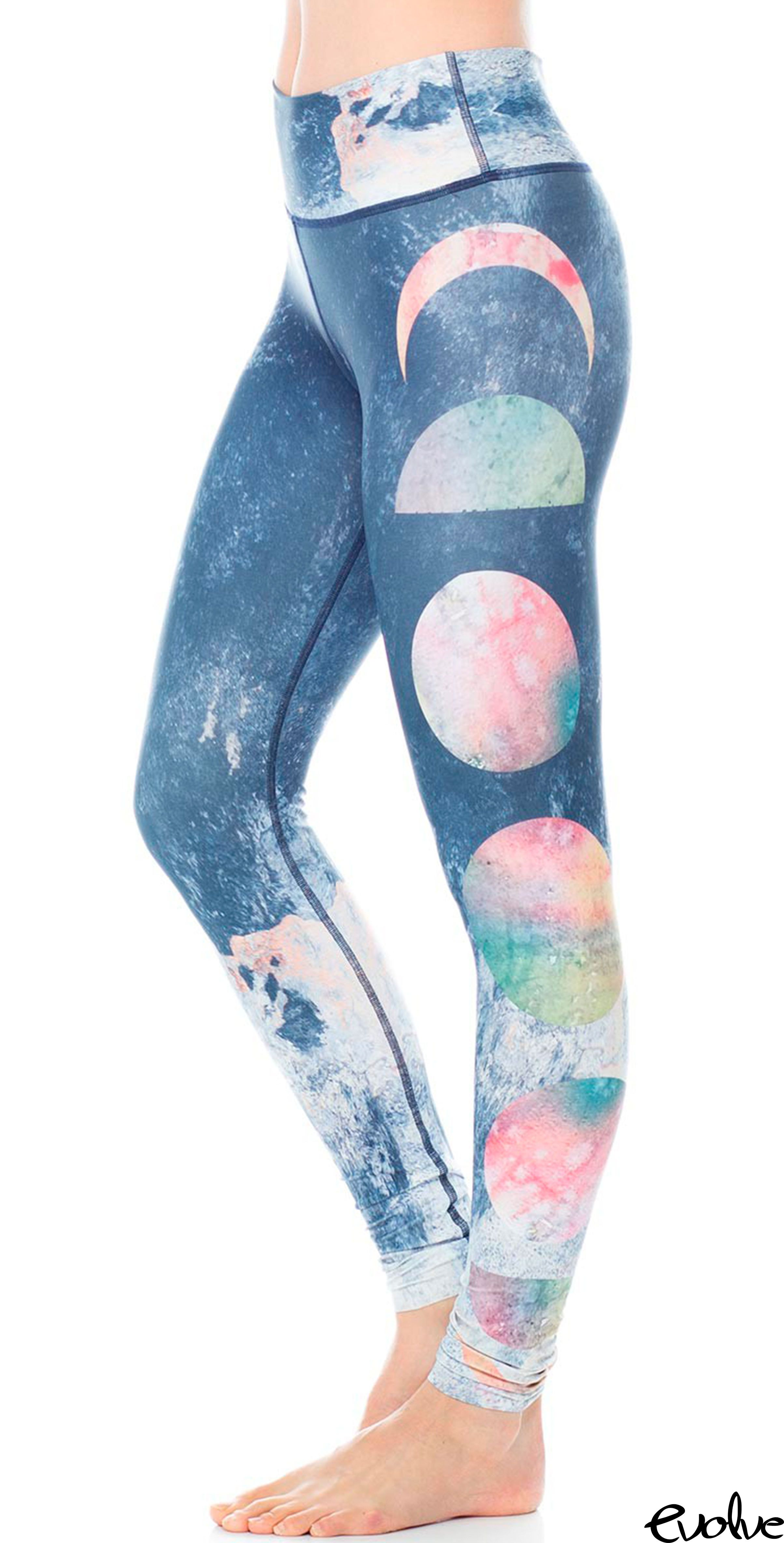 fc29ac4c3131b0 Ground yourself and your practice with these moon phase leggings from Jiva! Shop  now at www.evolvefitwear.com.