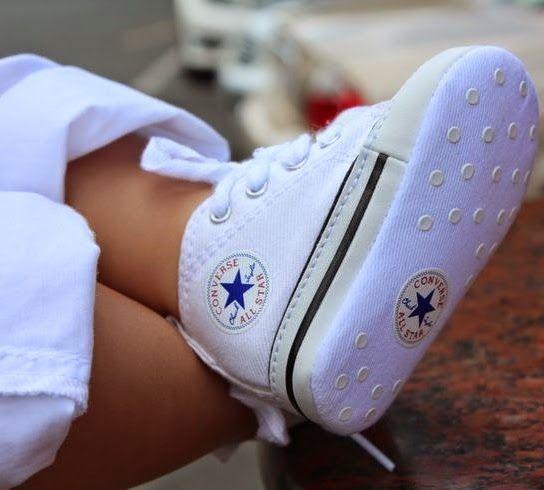 ead01c0e4 All Star Baptism Shoes, Sapatos de Batizado | sapatinhos de crianca ...