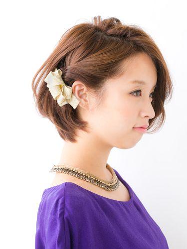 結婚式&披露宴ヘアアレンジ・髪型 2014 , [ヘア特集]