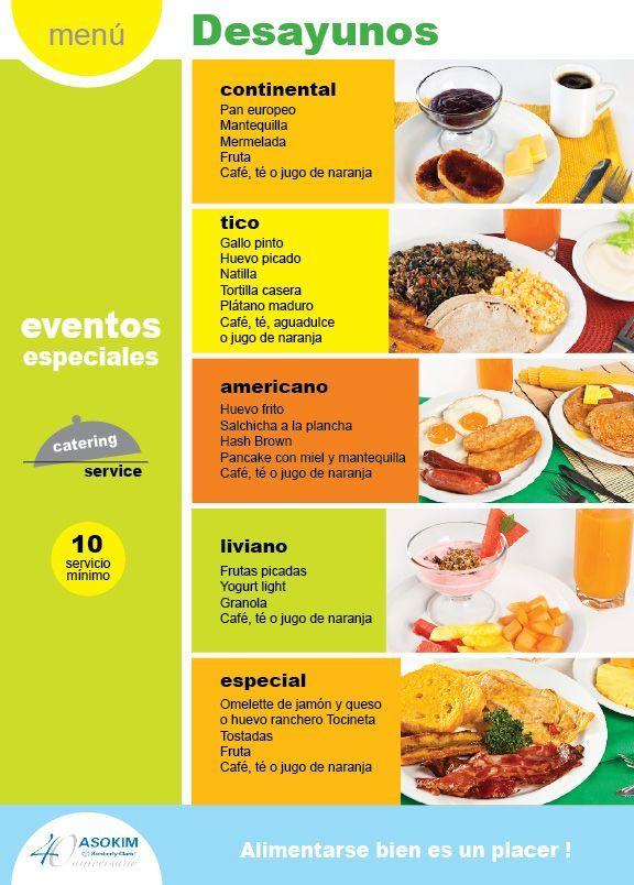 Galer a espa ol desayuno y comida for Menus faciles de hacer