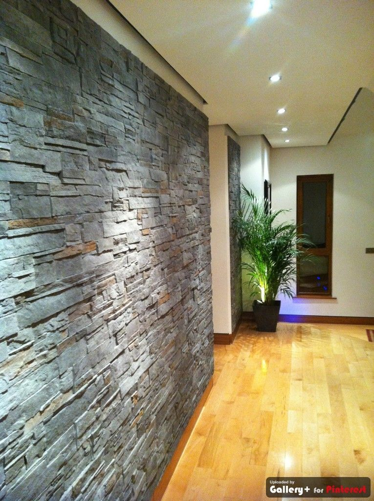 The Beautiful Contrast Of Materials Using Stone Cladding Interior