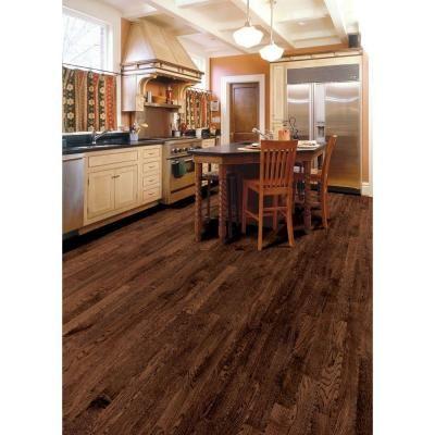 home legend wire brushed gunstock oak 38 in t x 712 in wide x varying length click lock hardwood sqft case - Home Legend Flooring