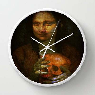 The return of Mona Lisa Wall Clock by Ganech joe - $30.00
