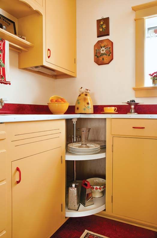 Cabinetmaker Mike Edeen Suggested Using The Wasted Corner Space For An  Inexpensive, Off The