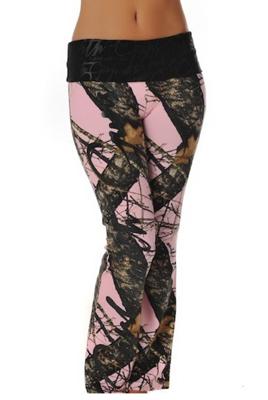 b24f9626970770 Mossy Oak Break Up® Script Lounge Pants from Girls with Guns Clothing