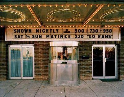 Old Theaters Artkat Vintage Movie Theater Cinema