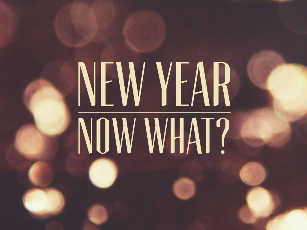 "New Year… Now What?"" Prayer Stations 