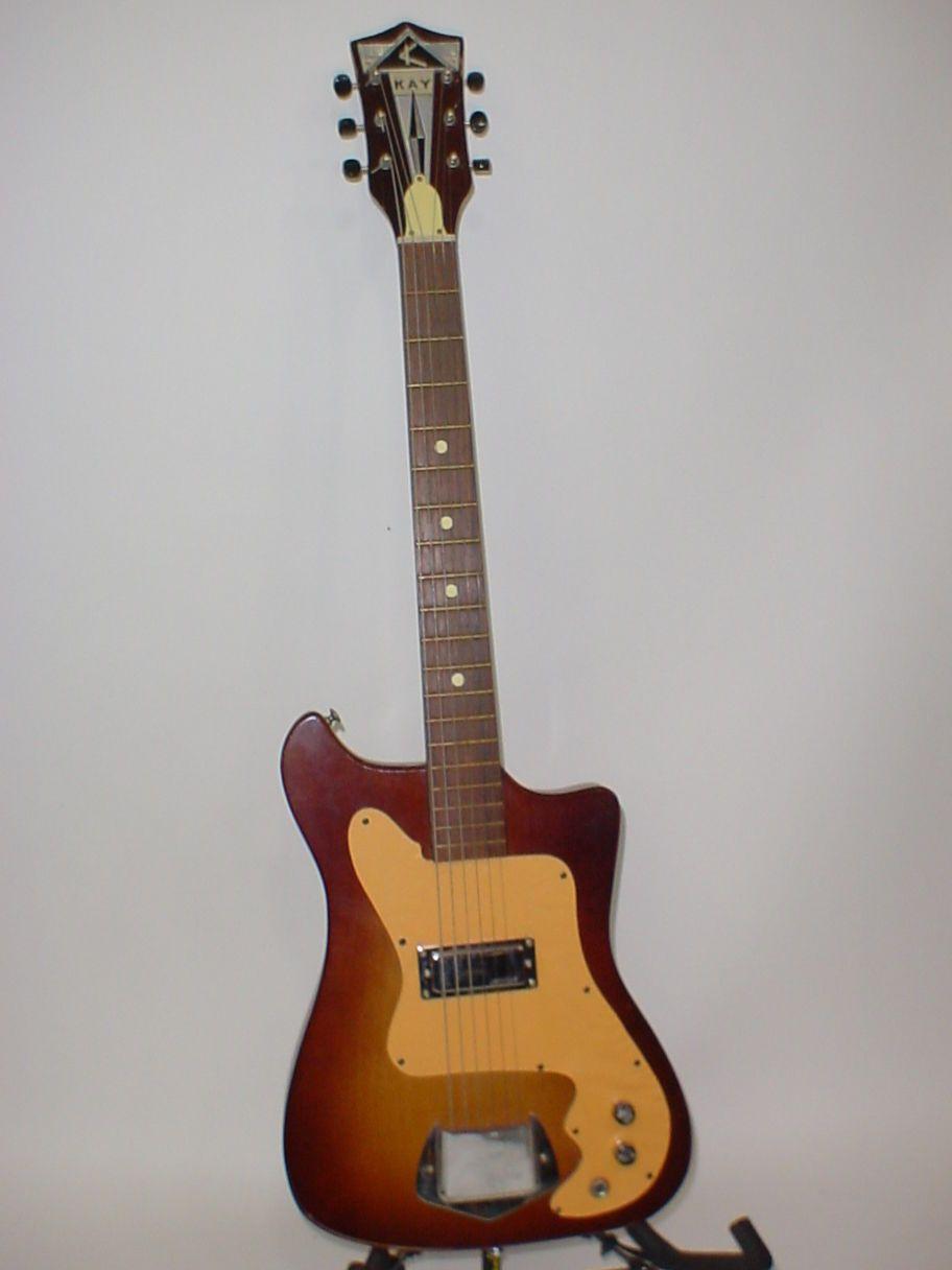 Guitar vintage kay electric Kay guitars.