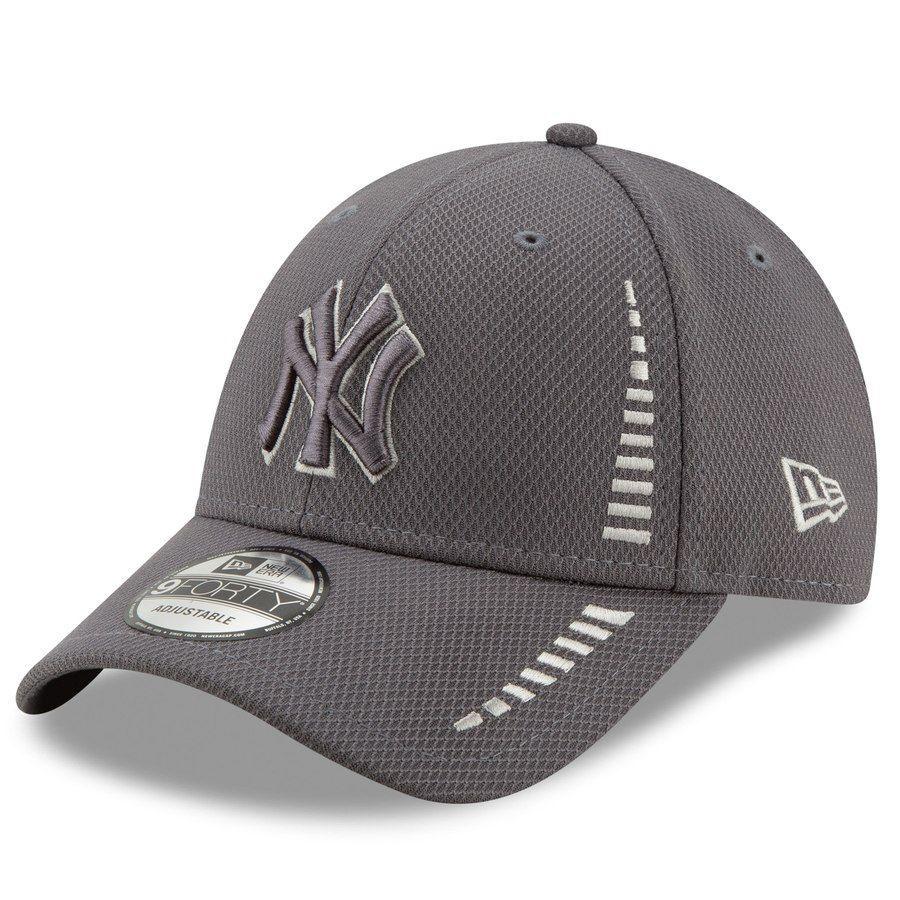 online retailer b0f62 21c27 Men s New York Yankees New Era Graphite Speed Tech 9FORTY Adjustable Hat,   23.99